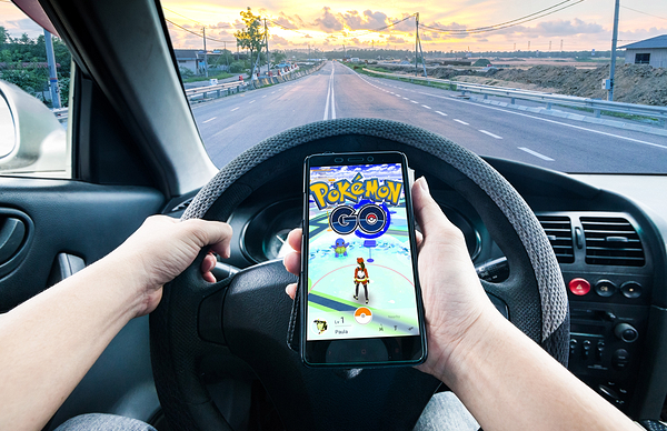Don't Play Pokémon Go and Drive